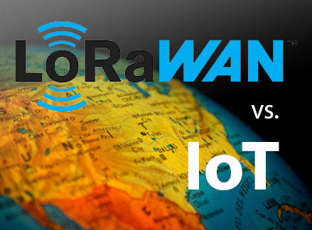 LoRaWAN® vs. the world of IoT!